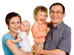 Family osteopathy treatment and services